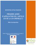 Rapport OREE Grenelle II