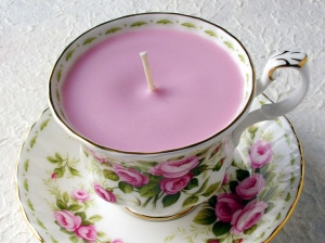Pink-Teacup-Candle