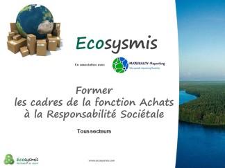 Formation Achats Responsables Ecosysmis 2015