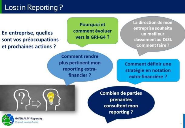 MATERIALITY-Reporting catalogue des services REPORTING